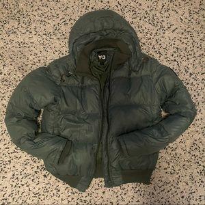 Y-3 -Yoshi Yamamoto Puffer Jacket-Detachable hood